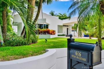 Home for Rent at 616 Ocean Blvd, Golden Beach FL 33160