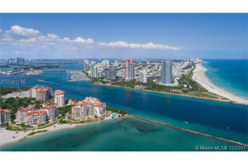 Home for Sale at 100 S Pointe Dr #3804, Miami Beach FL 33139