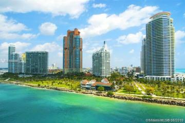 Home for Sale at 300 S Pointe Dr #2606, Miami Beach FL 33139
