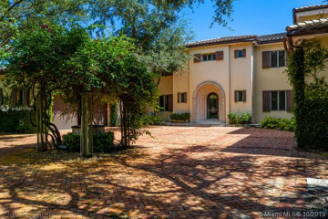 Home for Rent at 580 Leucadendra Dr, Coral Gables FL 33156