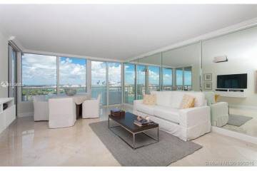 Home for Sale at 400 S Pointe Dr #1701, Miami Beach FL 33139