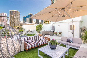 Home for Rent at 90 SW 3rd St #TH701, Miami FL 33130