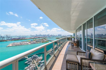 Home for Sale at 400 Alton Rd #2604, Miami Beach FL 33139