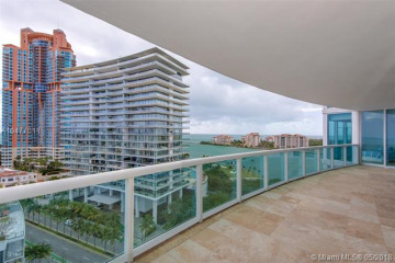 Home for Sale at 1000 S Pointe Dr #1507, Miami Beach FL 33139