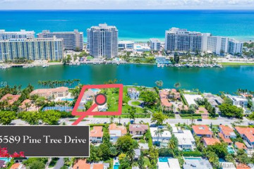 Home for Sale at 5589 Pine Tree Dr, Miami Beach FL 33140