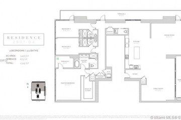 Home for Sale at 1451 Brickell Ave #2901/04, Miami FL 33131