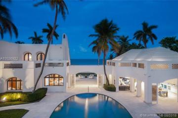 Home for Sale at 387 Ocean Blvd, Golden Beach FL 33160