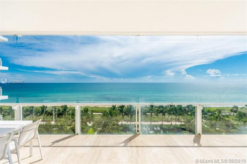 Home for Sale at 9111 Collins Ave #N-611, Surfside FL 33154