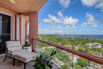Home for Sale at 10 Edgewater Dr #15D, Coral Gables FL 33133