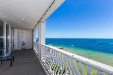 Home for Sale at 2200 S Ocean Ln #805, Fort Lauderdale FL 33316