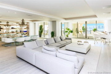 Home for Sale at 5234 Fisher Island Dr #5234, Miami Beach FL 33109