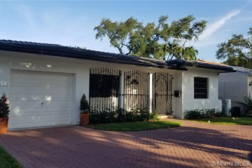 Home for Rent at 3305 Monegro St., Coral Gables FL 33134