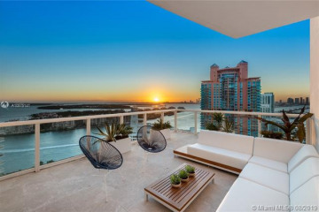 Home for Sale at 50 S Pointe Dr #3302, Miami Beach FL 33139