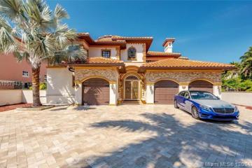 Home for Sale at 674 Ocean Blvd, Golden Beach FL 33160
