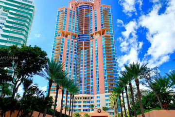 Home for Rent at 300 S Pointe Dr #909, Miami Beach FL 33139