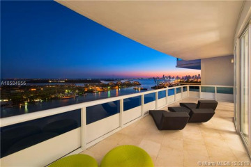 Home for Sale at 1000 S Pointe Dr #P2803, Miami Beach FL 33139