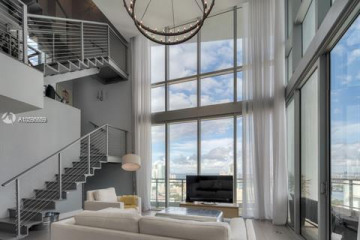 Home for Sale at 90 SW 3rd St #PH-5, Miami FL 33130