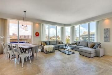 Home for Rent at 300 S Pointe Dr #705, Miami Beach FL 33139