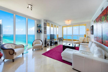 Home for Sale at 17875 Collins Ave #3401, Sunny Isles Beach FL 33160