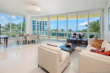Home for Rent at 100 S Pointe Dr #509, Miami Beach FL 33139