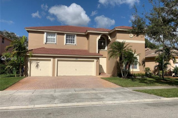 Home for Rent at 16653 SW 6th St, Pembroke Pines FL 33027