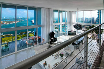 Home for Sale at 1040 Biscayne Blvd #PH4602, Miami FL 33132