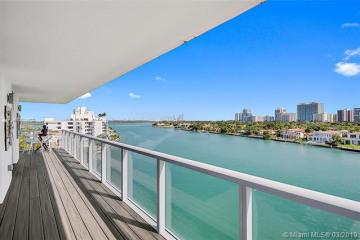 Home for Sale at 9901 E Bay Harbor Dr #801, Bay Harbor Islands FL 33154