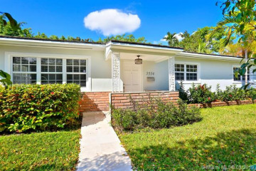 Home for Rent at 3934 Riviera Dr, Coral Gables FL 33134