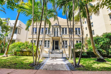 Home for Sale at 1018 Meridian Ave #4, Miami Beach FL 33139