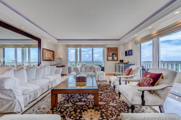 Home for Sale at 9801 Collins Ave #11L+CAB25, Bal Harbour FL 33154