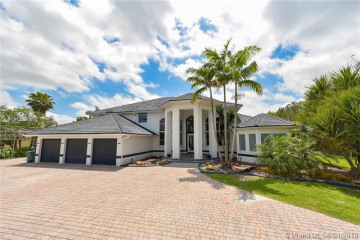 Home for Sale at 11080 SW 23 St, Davie FL 33324