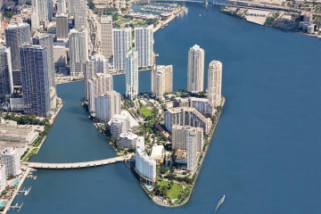 Home for Rent at 900 Brickell Key Blvd #1502, Miami FL 33131