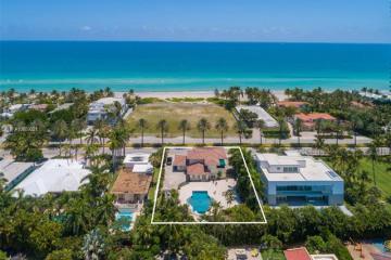 Home for Sale at 136 Ocean Blvd, Golden Beach FL 33160