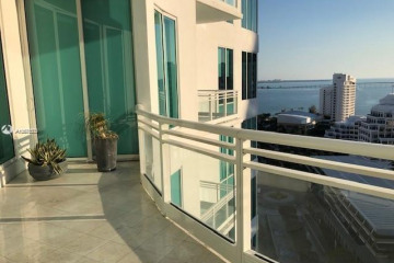 Home for Rent at 900 Brickell Key Blvd #1905, Miami FL 33131