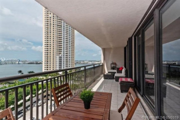 Home for Sale at 540 Brickell Key Drive #1413, Miami FL 33131