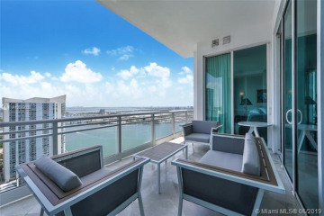 Home for Rent at 900 Brickell Key Bd #3302, Miami FL 33131