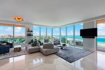 Home for Sale at 300 S Pointe Dr #2405, Miami Beach FL 33139