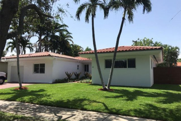 Home for Rent at 43 Samana Drive, Miami FL 33133