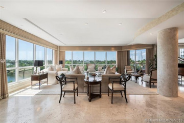 Home for Sale at 10 Edgewater Dr #3A/4A, Coral Gables FL 33133