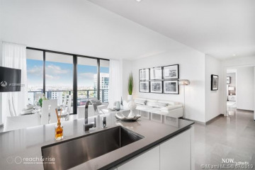 Home for Sale at 88 SW 7th St #1702, Miami FL 33130