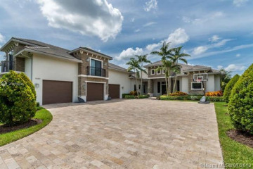 Home for Sale at 11680 SW 1st Court, Plantation FL 33325