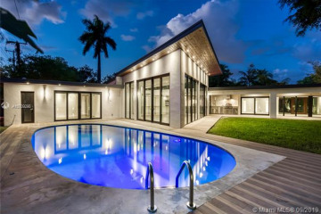 Home for Rent at 161 Shore Drive South, Miami FL 33133