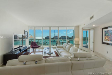 Home for Rent at 1000 S Pointe Drive #1104, Miami Beach FL 33139