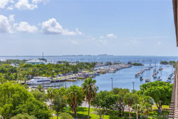 Home for Sale at 2901 S Bayshore Dr #8G, Miami FL 33133