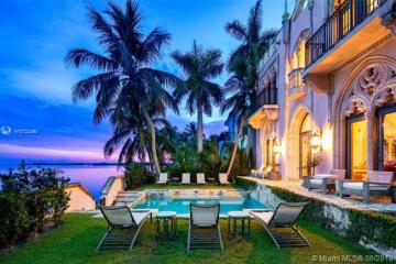 Home for Sale at 1840 S Bayshore Ln, Coconut Grove FL 33133