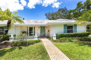 Home for Rent at 4900 San Amaro Dr, Coral Gables FL 33146