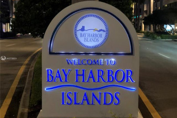 Home for Sale at 1020 93rd St, Bay Harbor Islands FL 33154