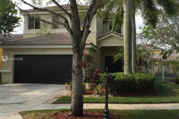 Home for Rent at 1145 Golden Cane Dr, Weston FL 33327