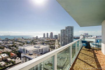 Home for Rent at 650 West Ave #3002, Miami Beach FL 33139