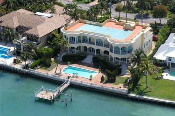 Home for Sale at Key Biscayne Residential Land/boat Docks, Key Biscayne FL 33149